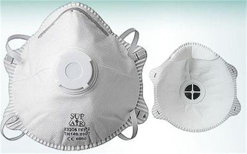 """Časticový respirátor, s ventilom,  """"Supair 23206"""""""