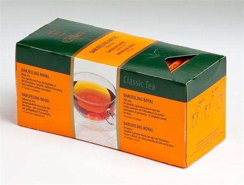 """Čierny čaj, 25x1,7g, EILLES """"Darjeeling Royal"""""""