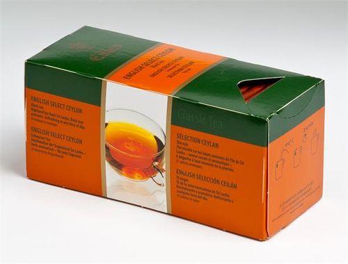 "Čierny čaj,  25x1,7g, EILLES ""English Select Ceylon"""