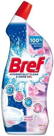 """Čistiaci prostriedok na toalety """"Bref"""", kvety, 700 ml"""