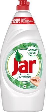 "Čistiaci prostriedok na umývanie riadu, 900 ml, JAR ""Sensitive"" Tea tree&Mint"