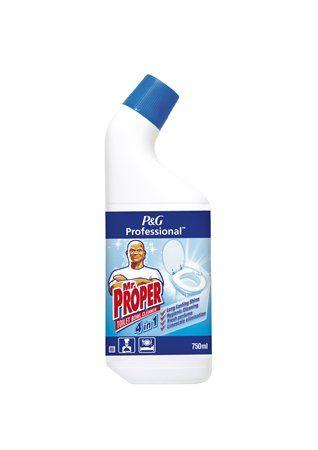 Čistiaci prostriedok na WC, 4in1, 750 ml, MR PROPER
