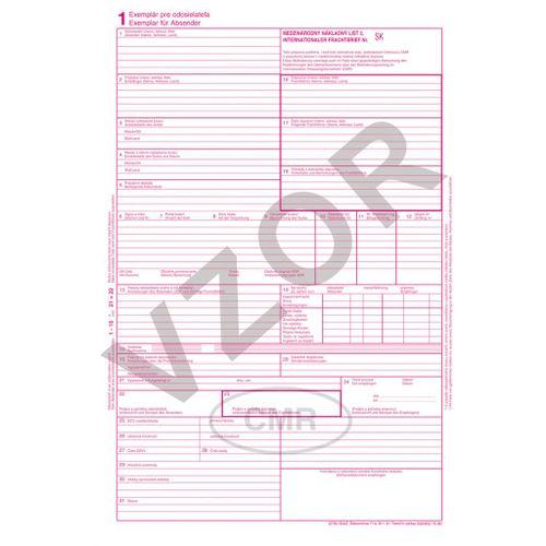 CMR-5 list. samoprep. A4/CMR, 5 listov, balenie 100 súp