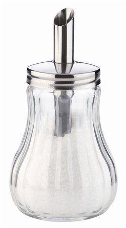 Cukornička s dávkovačom, sklenená, 150 ml