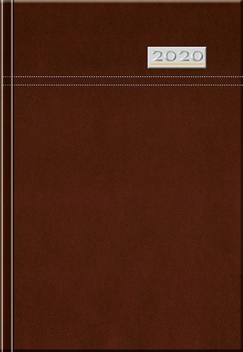 Denný diár A5 12M-TOSCANA hnedý