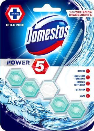 """Dezinfekčný prostriedok na toalety, DOMESTOS """"Power 5"""", oceán"""