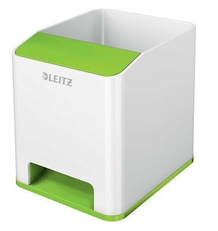 """Držiak na písacie potreby, LEITZ """"Wow"""", zelená"""