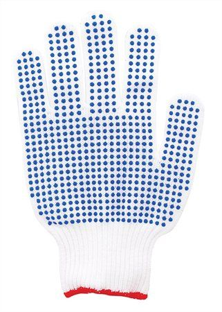 Elastické rukavice, pletené, veľkosť: 7
