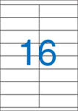 Etikety, univerzálne, 105x35 mm, VICTORIA, 1600 etikiet/bal