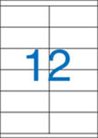 Etikety, univerzálne, 105x48 mm, VICTORIA, 1200 etikiet/bal