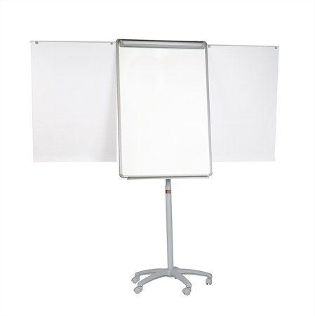 Flipchartová tabuľa, magnetická, 70x100 cm, 2 pomocné ramená, mobilná, VICTORIA