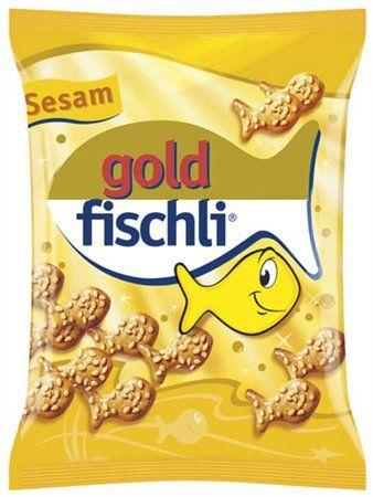 """""""Gold-Fischli"""", sezamové rybky, 100 g"""