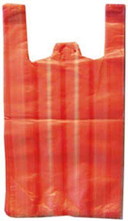 Igelitové tašky, prúžkované, 28x8x50 cm