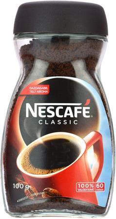 """Instantná káva, 100 g, v sklenenej dóze, NESCAFÉ """"Classic"""""""