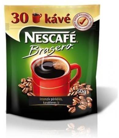 """Instantná káva, 50 g, náplň, NESCAFÉ """"Brasero"""""""