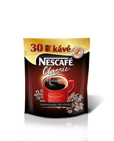 """Instantná káva, 50 g, náplň, NESCAFÉ """"Classic"""""""
