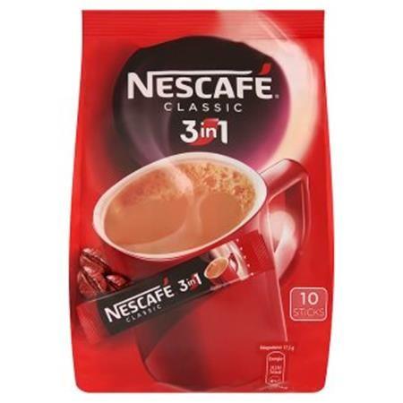 """Instantná káva, stick, 10x17,5 g, NESCAFÉ 3in1 """"Classic"""""""