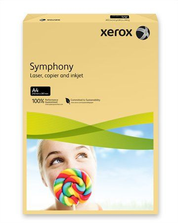 "Kancelársky papier, farebný, A4, 160 g, XEROX ""Symphony"", maslový (stredný)"