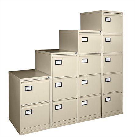 Kartotéka na závesné zakladacie dosky, 4 zásuvky, VICTORIA, béžová