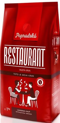 Káva Popradská Restaurant zrnková 1 KG/1