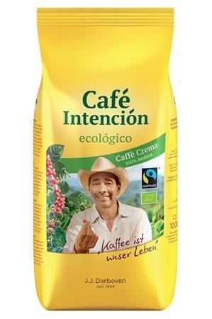 """Káva, pražená, BIO, zrnková, 1000 g, """"CAFÉ INTENCIÓN"""" """"Ecológico"""""""