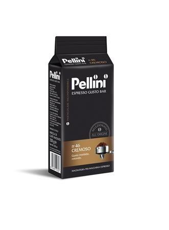 """Káva, pražená, mletá, 250 g,  PELLINI, """"Cremoso"""""""