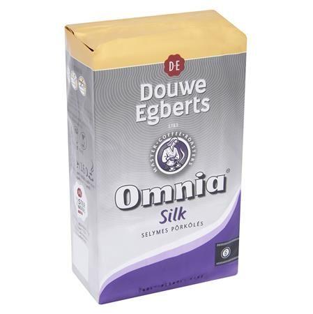 """Káva, pražená, mletá, vákuové balenie, 1000 g,  DOUWE EGBERTS """"Omnia"""", silk"""
