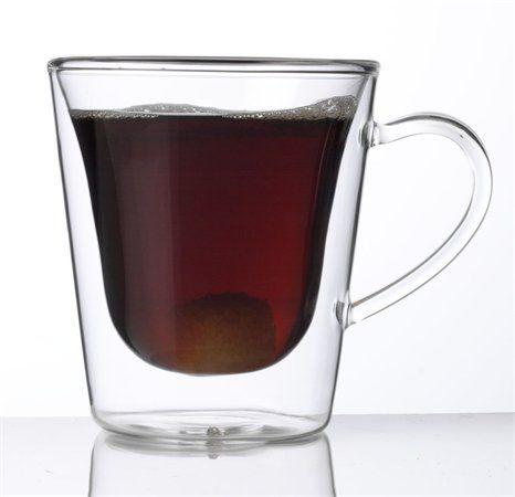 """Kávová-čajová šálka, dvojstenné sklo, """"Thermo"""""""