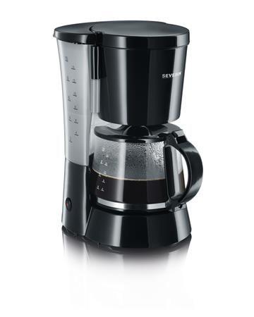 Kávovar, filtrový,  SEVERIN, čierny