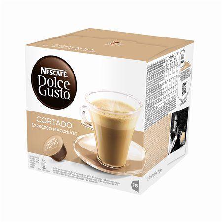 """Kávové kapsuly, 16 ks,  NESCAFÉ """"Dolce Gust Cortado"""""""