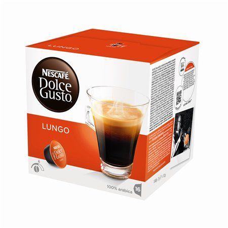 """Kávové kapsuly, 16 ks,  NESCAFÉ """"Dolce Gusto Caffé Lungo"""""""