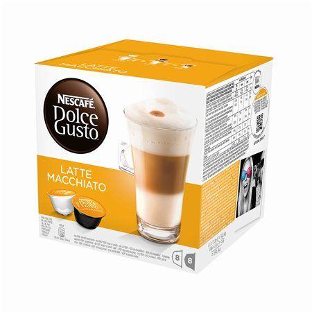 """Kávové kapsuly, 16 ks,  NESCAFÉ """"Dolce Gusto Latte Macchiato"""""""