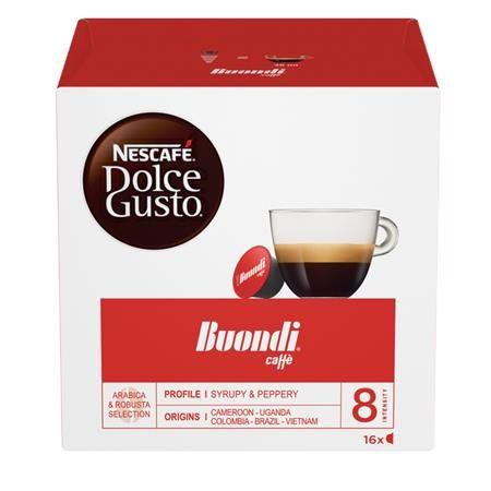"""Kávové kapsuly, 16 ks, NESCAFÉ """"Dolce Gusto Boundi Caffé"""""""