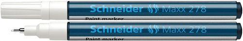 """Lakový popisovač, 0,8 mm, SCHNEIDER """"Maxx 278"""", biely"""