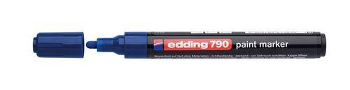 """Lakový popisovač, 2-3 mm, EDDING """"790"""", modrý"""