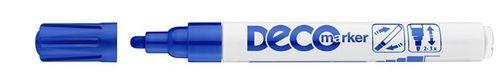 """Lakový popisovač, 2-4 mm, ICO """"Decomarker"""", modrý"""