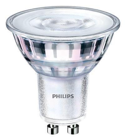 "LED, žiarovka, GU10, spot, 5W, 395lm, 230V, 2700K, 36D, PHILIPS ""CorePro"""