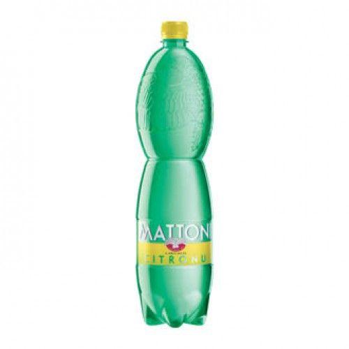 MATTONI MV citrón PET 1,5 L