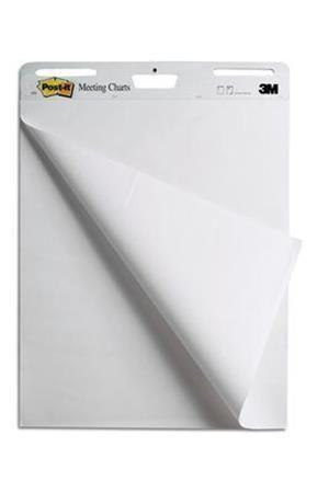 Meeting Chart biely,30listov,  63,5x77,5cm