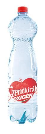 """Minerálna voda, nesýtená, SZENTKIRÁLYI """"Oxigén"""", 1,5 l"""
