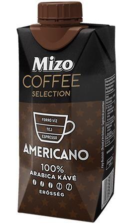 Mlieko  Americano, UHT nízkotučné, v znovu zatvárateľnej krabici, 0,33 l, MIZO