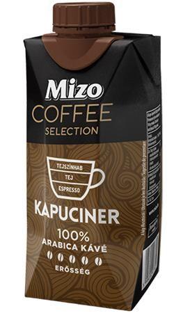 Mlieko Coffe Selection,  Kapuciner, UHT polotučné, v znovu zatvárateľnej krabic, 0,33 l, M
