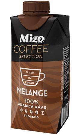 Mlieko Coffe Selection, Melange, UHT polotučné, v znovu zatvárateľnej krabic, 0,33 l, MIZO