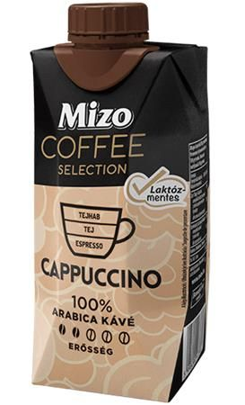 Coffee Selection, Cappuccino, UHT polotučné, v znovu zatvárateľnej krabici, 0,33 l, MIZO,