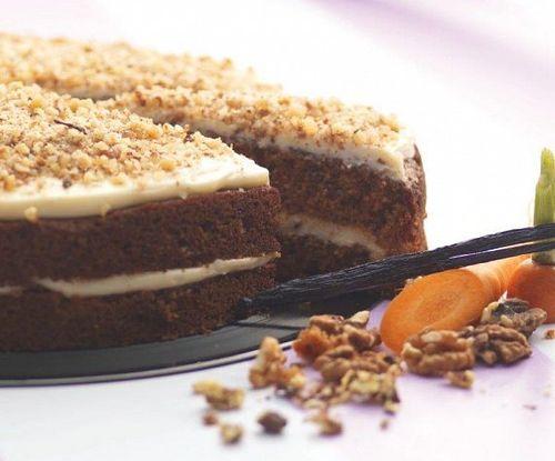 Mrkvovo-orechová torta 1450g