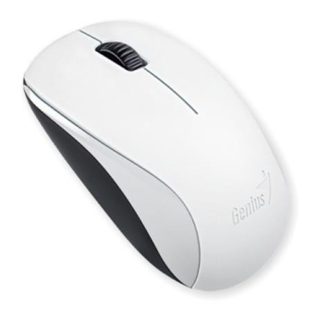 """Myš, bezdrôtová, optická, štandardná veľkosť, GENIUS """"NX-7000"""" biela"""