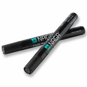 Naga Marker, kriedový popisovač, 4,5 mm, čierny, 2 ks