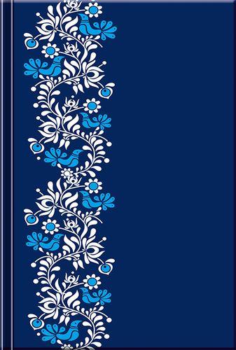 Notes Folk modrý