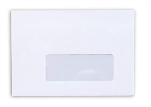 Obálka, LC6, samolepiaca, okienko na pravej strane, VICTORIA