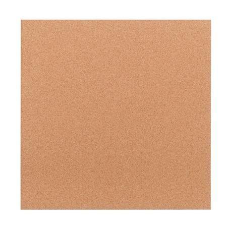 Odkazová tabuľa, bez rámu, korok, 40x40 cm, hladká, VICTORIA